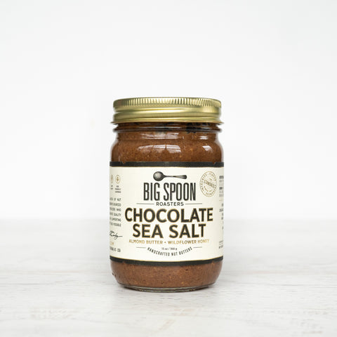 Chocolate Sea Salt Almond Butter