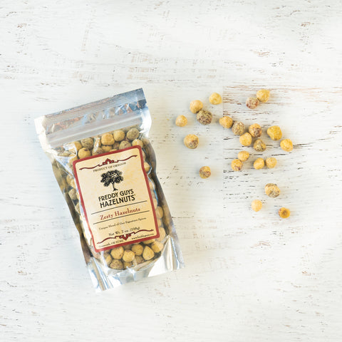 Zesty Seasoned Hazelnuts