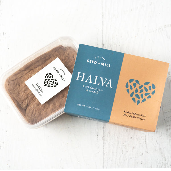 Dark Chocolate and Sea Salt Halva