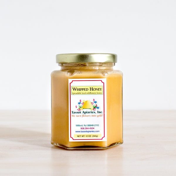 New Jersey Whipped Wildflower Honey