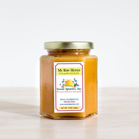 New Jersey Raw Unfiltered Honey