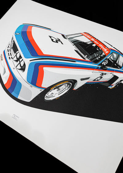 3.0 CSL Batmobile | ARTPRINT