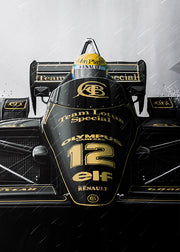 LOTUS 97T | ARTPRINT