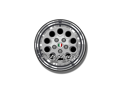 Alfa Speedline Wheel | Sticker