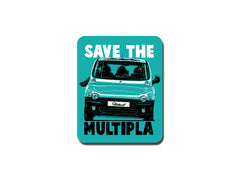 SAVE THE MULTIPLA | STICKER