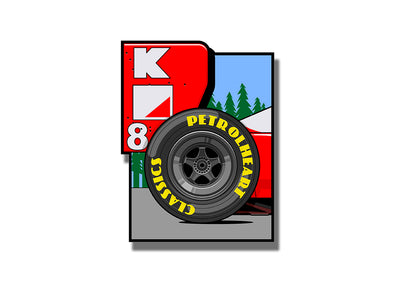 MCLAREN MP4/8 | Sticker