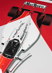 MCLAREN MP4/8 | ARTPRINT