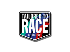 Tailored To Race | Sticker