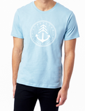 T-shirt Nature lifestyle - Bleu clair