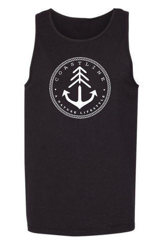 Nature lifestyle tank top - Black
