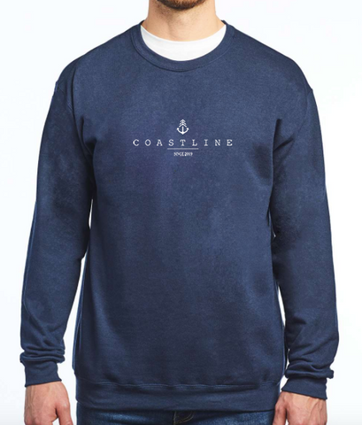 Crew Neck - Navy blue