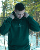 Classic unisex hoodie - Forest green
