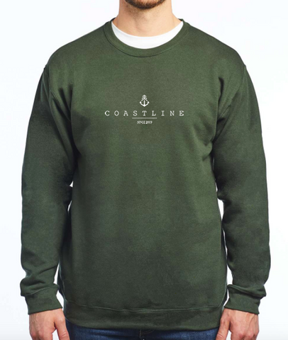Crew Neck - Forest Green