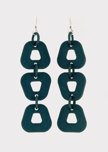 Trapezoid Hook Earrings