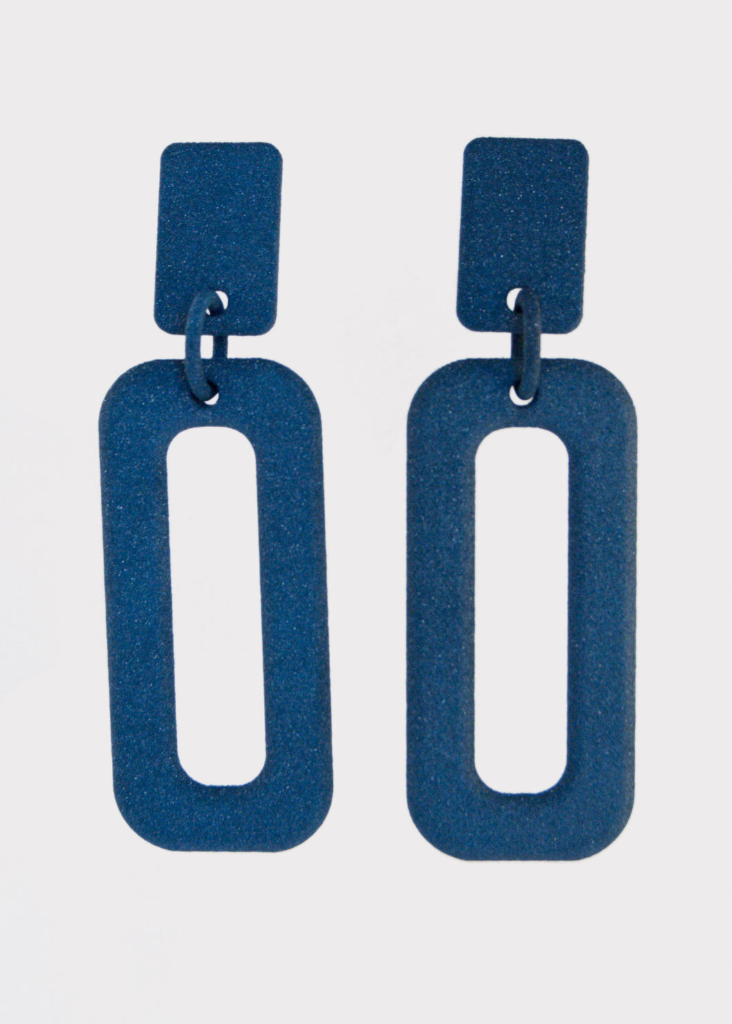 Rectangle Drop Earrings
