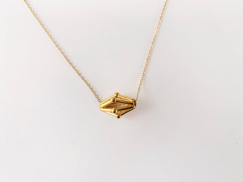 Gold Mitosis Necklace