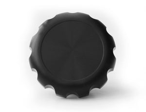 The Diamond Range Curbed Black Harley-Davidson Sportster Gas Cap