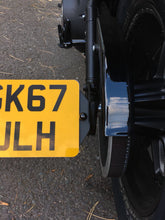 Load image into Gallery viewer, The Diamond Range Harley-Davidson Fatbob Side Mount Number Plate Bracket