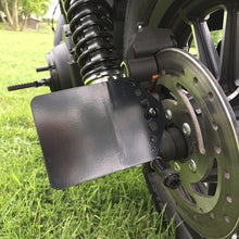 Load image into Gallery viewer, The Diamond Range Harley-Davidson Sportster Side Mount Number Plate Bracket Black