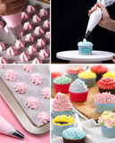 20 PCs Pack Disposible Tipless Icing/Piping Bags