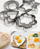 20 PCs Multi-Shape Stainless Steel Cookies Cutter