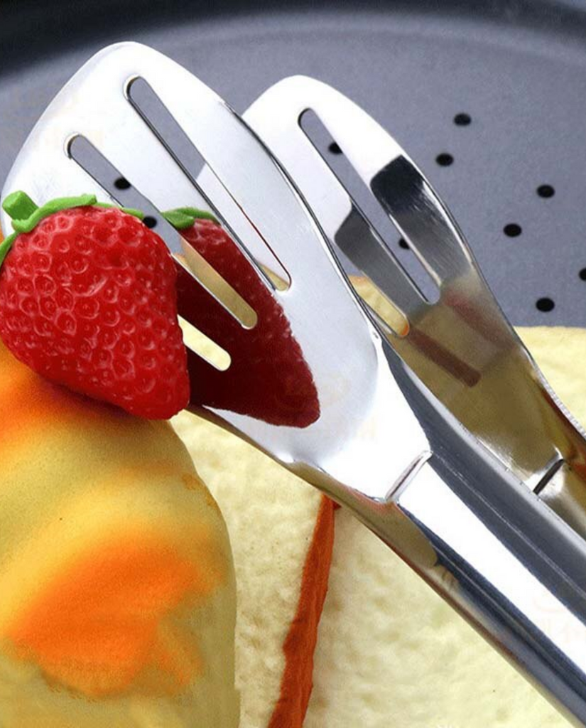 1Pc Stainless Steel Kitchen Tongs Metal BBQ Tongs Salad Bread Spaghetti Serving Tongs Buffet Food Clamp Kitchen Cooking tools