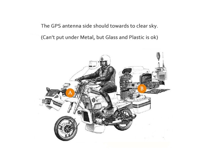 Mini Motorcycle GPS Tracker For Sale