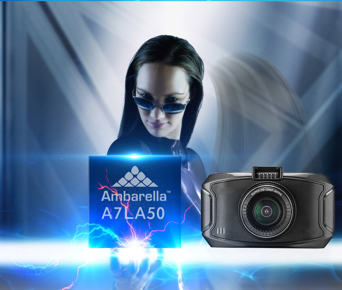 Ambarella A7 Dash Cam features and details