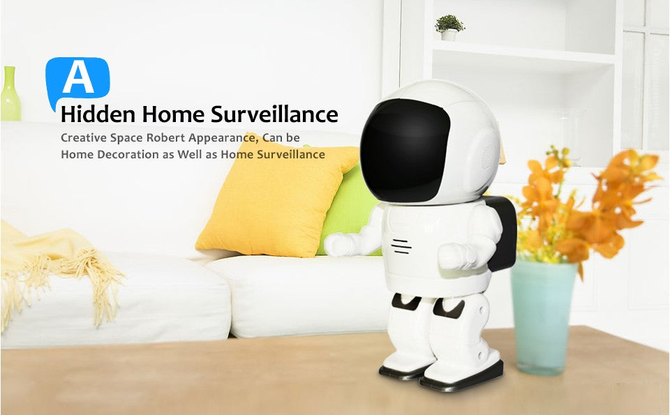 Robot Rotating Ip Camera features