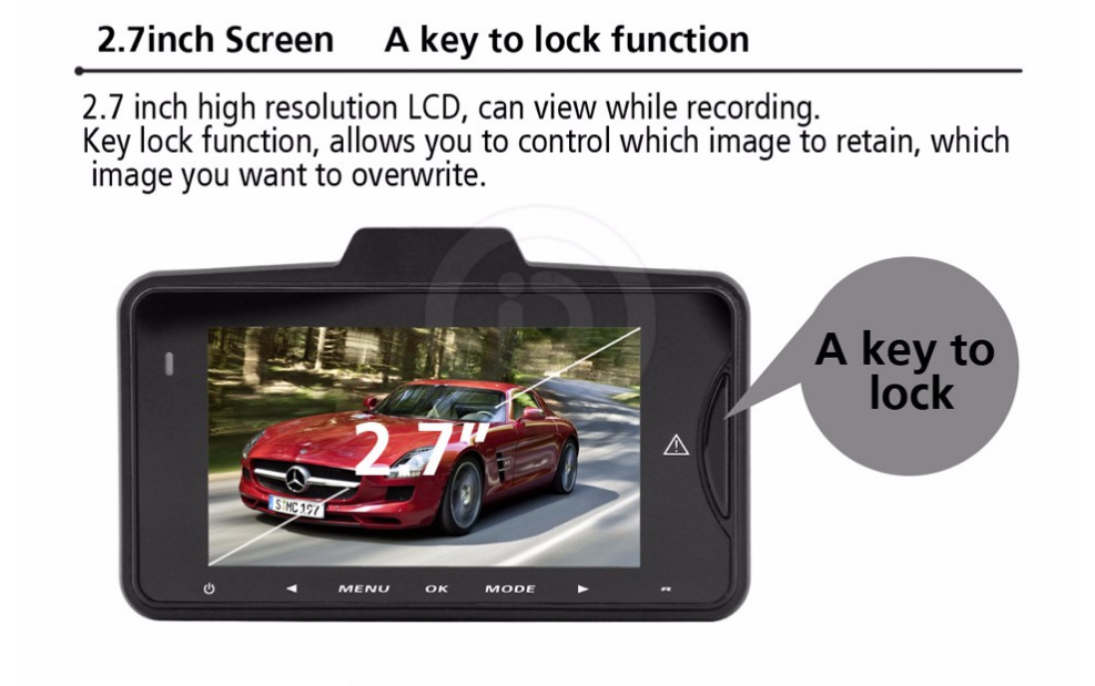 HD dash cam features