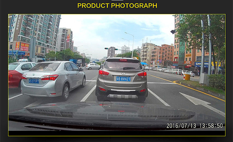 hidden dash cam taking picture effect