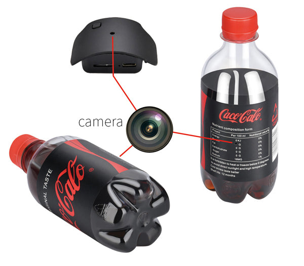 bottle spy camera