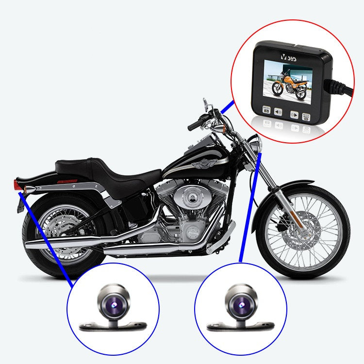 motorcycle dash cam for sale dual lens auto charging hidden install securitybees. Black Bedroom Furniture Sets. Home Design Ideas