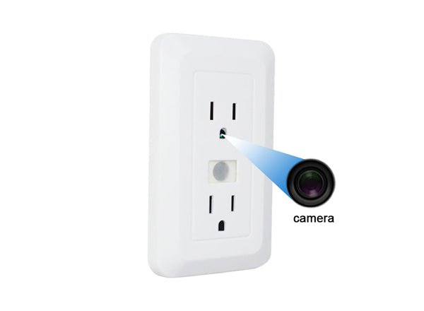 outlet spy camera