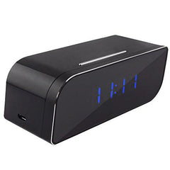 HD 720P Alarm Clock Hidden Wifi Security Camera