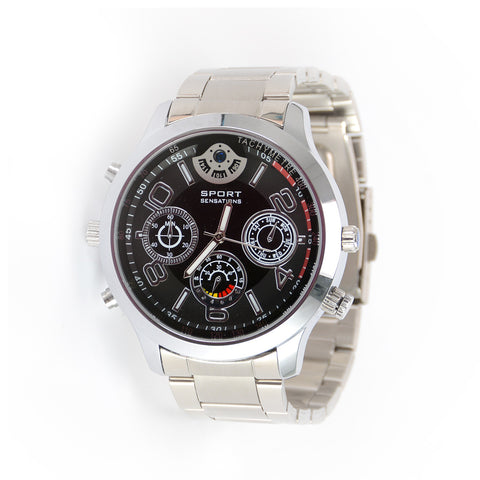 HD 2K Hidden Camera Watch