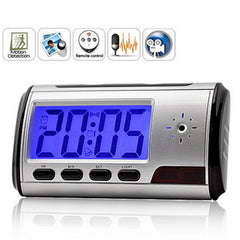 Alarm Clock Spy Hidden Camera