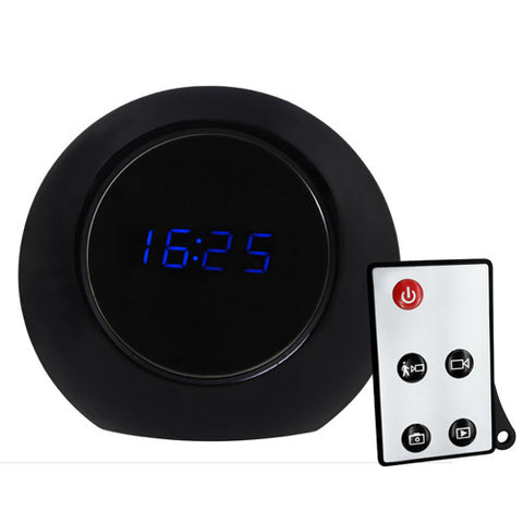 Alarm Clock Surveillance Camera