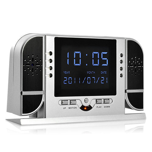 Multi Function IR Clock Digital Spy Camera