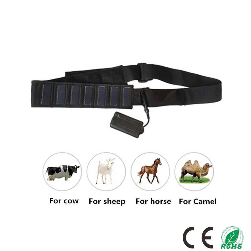 3G Solar Powered Cattle And Horse Gps Tracking Device With Collar Cut Alert