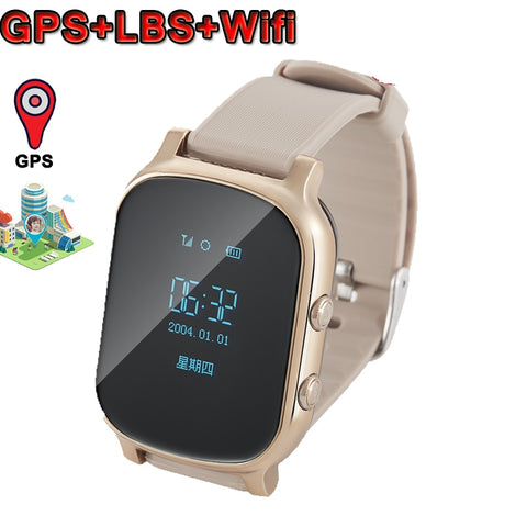 Wifi Smart Watch For Kids With GPS Tracker