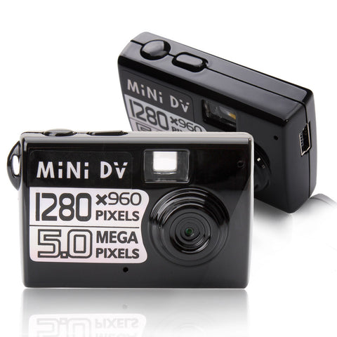 5MP HD Smallest Mini DV Camera