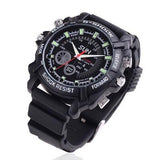 16GB Spy Watch Camera With Rubber Bracelet