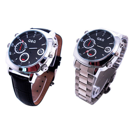 Multi-Function Spy Watch With Hidden Camera