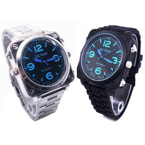 Sound Activated HD Spy Watch Camera