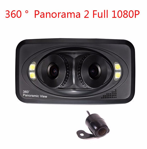 360 Degree Panoramic View Car Surveillance Camera