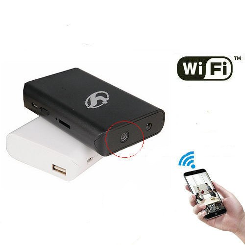 HD 1080P Wifi Power Bank Hidden Camera