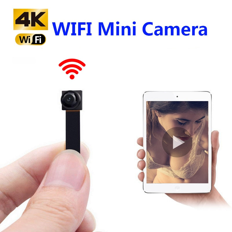 DIY Protable Wireless Mini IP Camera HD 1080P Wifi P2P