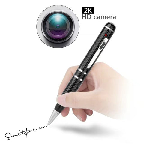 2K Starlight Night Vision Spy Pen Camera