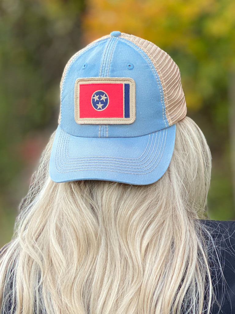 blue TN hat